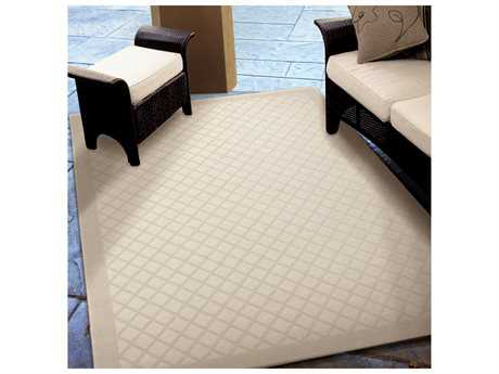 Orian Rugs Jersey Home Trellis Ivory Rectangular Area Rug