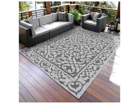 Orian Rugs Jersey Home Charcoal Rectangular Area Rug