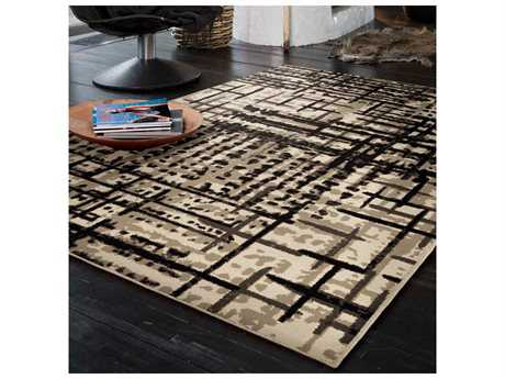 Orian Rugs Epiphany Prague Ivory Rectangular Area Rug