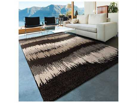 Orian Rugs American Heritage Waves Black & Gray Rectangular Area Rug