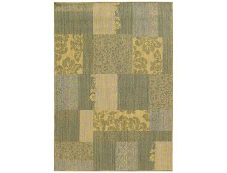 Oriental Weavers Tommy Bahama Cabana Rectangular Green Area Rug