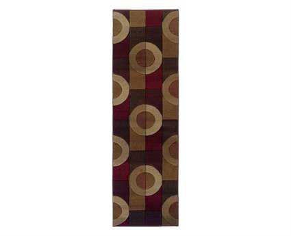 Oriental Weavers Genesis 2'3'' x 7'6'' Rectangular Brown Runner Rug