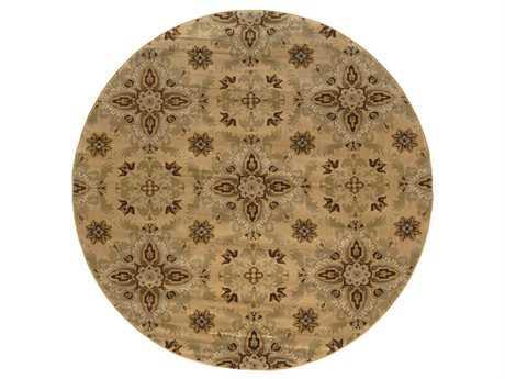 Oriental Weavers Ariana 8' Round Yellow Area Rug