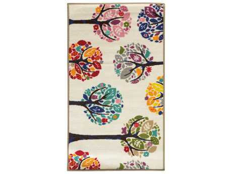 Oriental Weavers Serendipity Rectangular White Area Rug