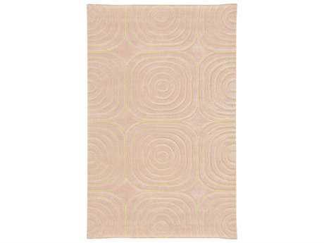 Oriental Weavers Pantone Universe Optic Rectangular Pink & Ivory Area Rug