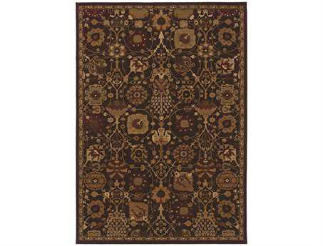 Oriental Weavers Cambridge Rectangular Purple Area Rug