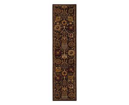 Oriental Weavers Cambridge 1'10'' x 7'6'' Rectangular Purple Runner Rug