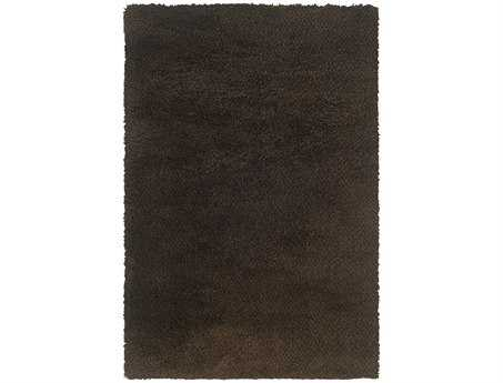Oriental Weavers Loft Collection Rectangular Brown Area Rug