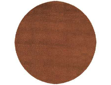 Oriental Weavers Loft Collection Round Rust Area Rug