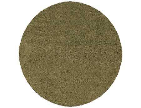 Oriental Weavers Loft Collection Round Green Area Rug