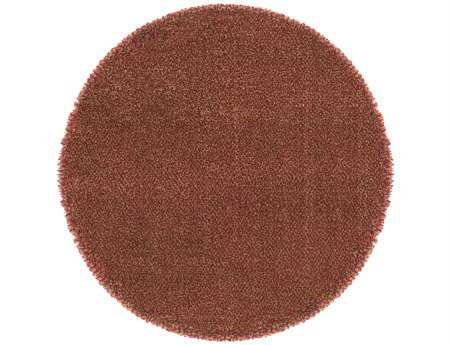 Oriental Weavers Loft Collection Round Red Area Rug