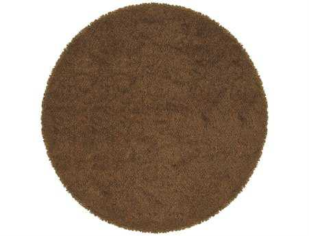 Oriental Weavers Loft Collection Round Brown Area Rug