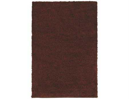 Oriental Weavers Loft Collection Rectangular Red Area Rug