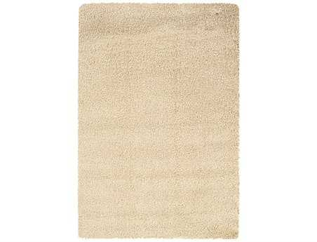 Oriental Weavers Loft Collection Rectangular White Area Rug