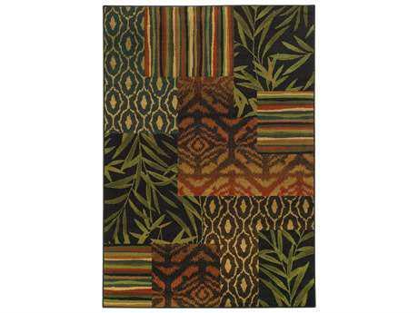 Oriental Weavers Tommy Bahama Villa Rectangular Multi-Color Area Rug