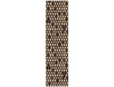 Oriental Weavers Marrakesh 2'7'' x 10' Rectangular Gray Runner Rug