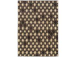 Oriental Weavers Marrakesh Rectangular Brown Area Rug