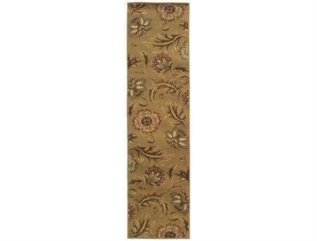 Oriental Weavers Darcy 1'10'' x 7'3'' Rectangular Brown Runner Rug