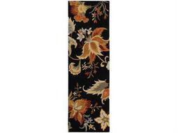 Oriental Weavers Eden 2'6'' x 8' Rectangular Black Runner Rug