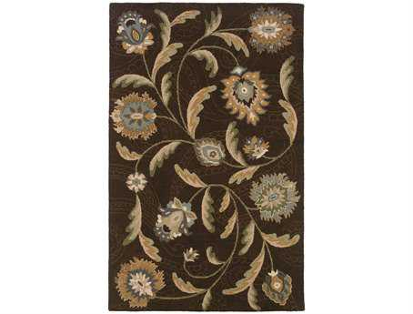 Oriental Weavers Eden Rectangular Brown Area Rug