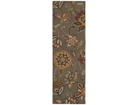 Oriental Weavers Eden 2'6'' x 8' Rectangular Gray Runner Rug