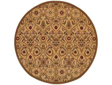 Oriental Weavers Knightsbridge Round Yellow Area Rug