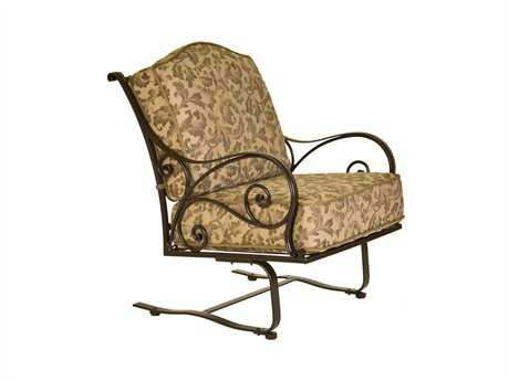 OW Lee Ashbury Cast Aluminum Spring Lounge Chair