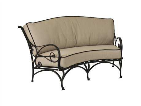 OW Lee Ashbury Cast Aluminum Loveseat
