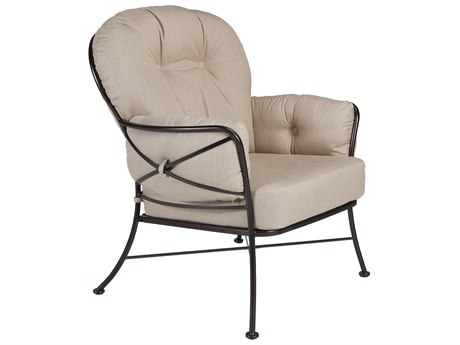 OW Lee Cambria Wrought Iron Lounge Chair