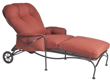 OW Lee Cambria Wrought Iron Adjustable Chaise