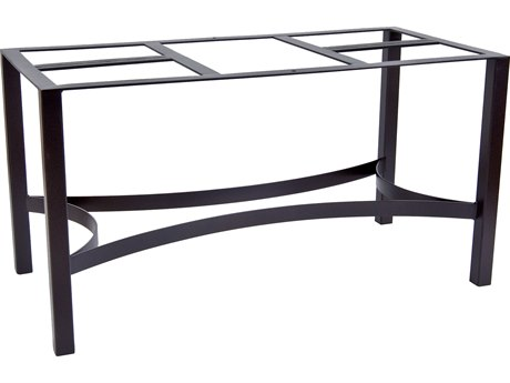 OW Lee Wrought Iron 10 Dining Table Base