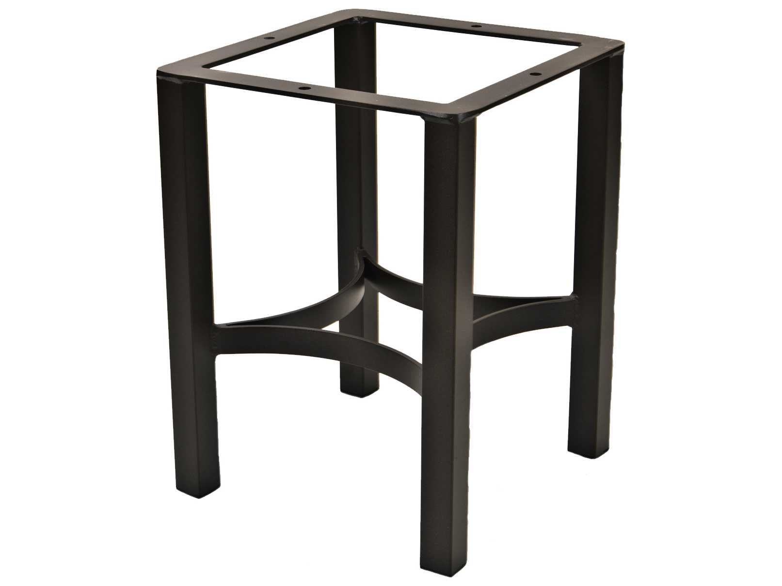 Ow Lee Palazzo Wrought Iron End Table Square Base Ow1st01