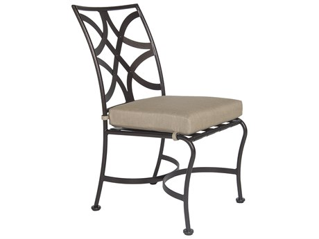 OW Lee Marquette Wrought Iron Dining Side Chair