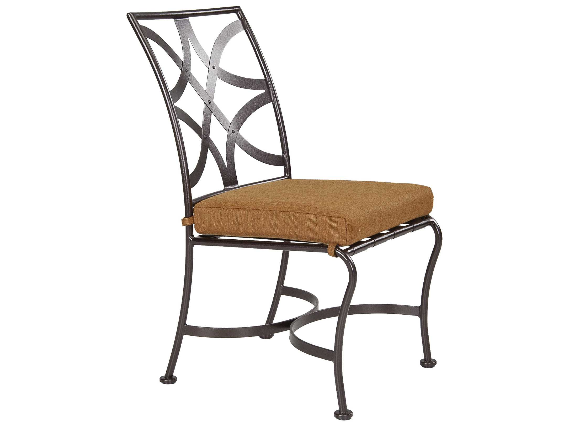 OW Lee Marquette Wrought Iron Dining Side Chair | 2051-S