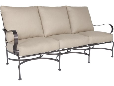 OW Lee Marquette Wrought Iron Sofa
