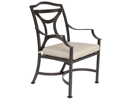 OW Lee Madison Aluminum Dining Arm Chair
