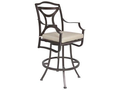 OW Lee Madison Aluminum Swivel Bar Stool