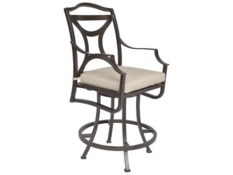 OW Lee Madison Aluminum Swivel Counter Stool