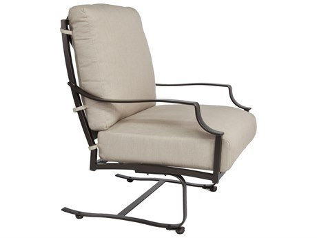 OW Lee Madison Aluminum Spring Base Lounge Chair