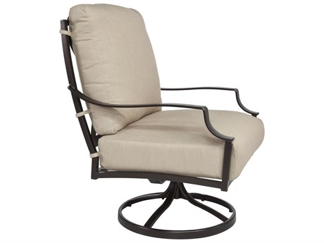 OW Lee Madison Aluminum Swivel Rocker Lounge Chair
