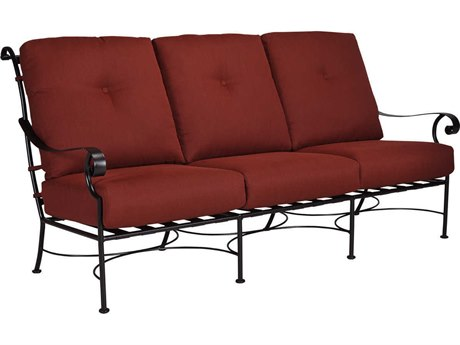OW Lee St. Charles Wrought Iron Sofa