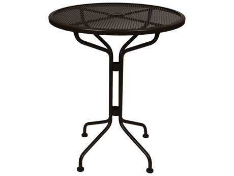 OW Lee Mesh Wrought Iron 30 Round Counter Table