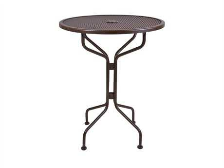 OW Lee Micro Mesh Wrought Iron 30 Round Counter Table