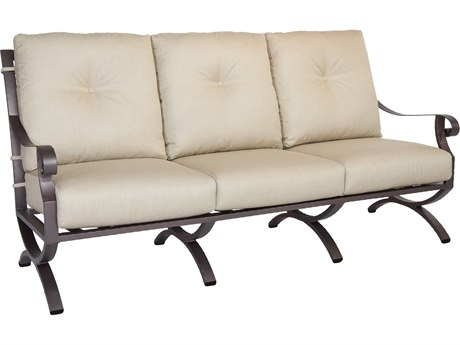 OW Lee Luna Wrought Iron Sofa