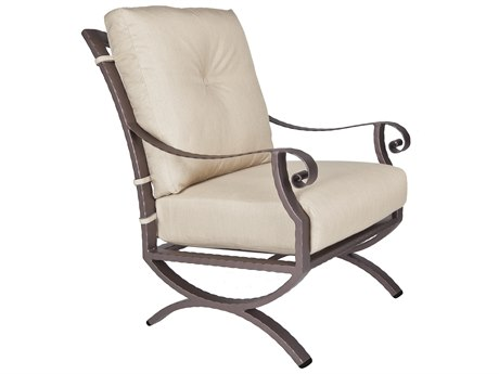 OW Lee Luna Wrought Iron Lounge Chair