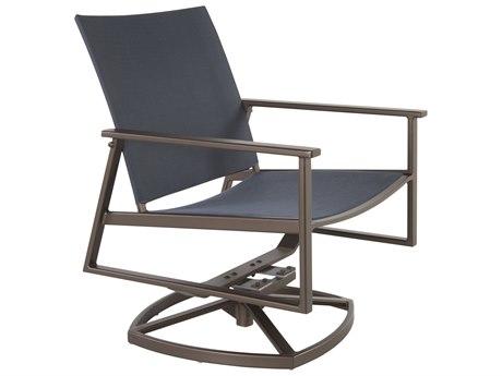 OW Lee Marin Aluminum Flex Comfort Swivel Rocker Lounge Chair