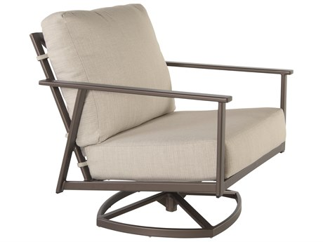 OW Lee Marin Aluminum Swivel Rocker Lounge Chair