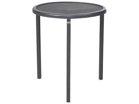 OW Lee Lennox Steel 16 Round Stacking Tea Table