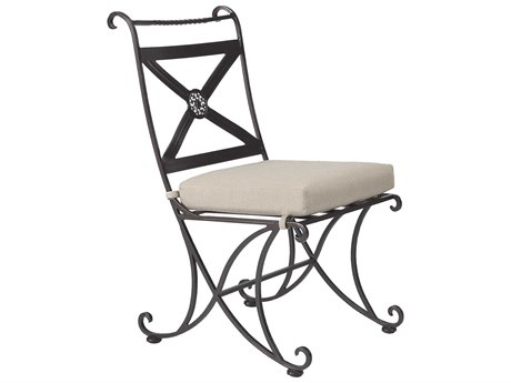 OW Lee Bellini Dining Wrought Iron Side Chair