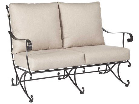 OW Lee Bellini Wrought Iron Loveseat